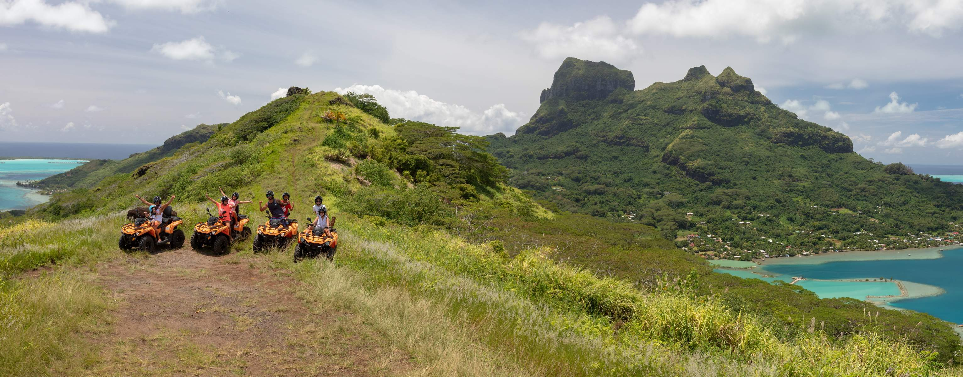 Bora Bora Safari atv quad tours